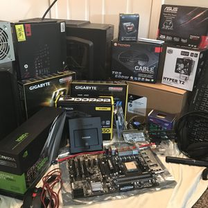 LOTS COMPUTER STUFF AND 3 GAMING PC'S for Sale in McCordsville, IN