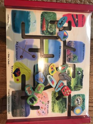 Melissa and Doug alphabet toy puzzle for Sale in Santa Monica, CA