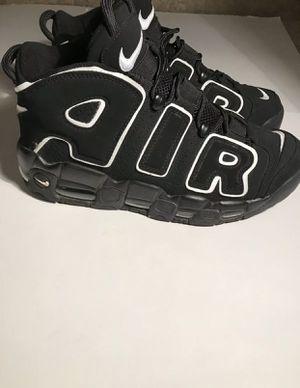 Air More Uptempo Scottie Pippen Size 8.5 Mens Blk/White for Sale in Union City, GA
