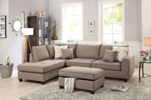 3PCs Sectional Sofa W/ Storage Ottoman🎈🛋🎈 for Sale in Fresno, CA