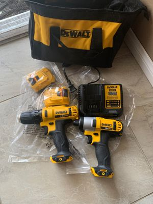New 12v drill and impact cordless asking $130 PRICE IS FIRM NO LESS OFFERS IGNORE for Sale in North Las Vegas, NV