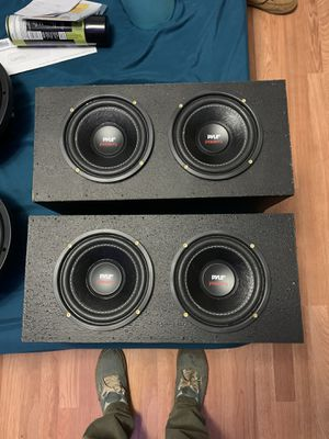 Pyle subs in box for Sale in Stafford, VA