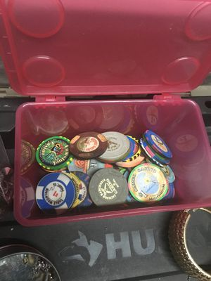 58 California casino chips total face value is $351.50 for Sale in Stockton, CA