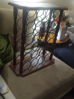 Wine Rack (Small End Table) for Sale in Denver,  CO