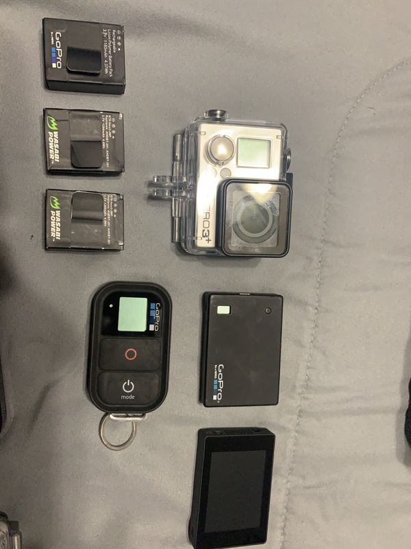 GoPro Hero3+ and tons of extras