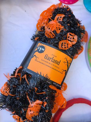 Halloween garland for Sale in Albuquerque, NM