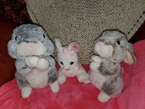 Bunny plushies praying for Sale in Litchfield Park, AZ
