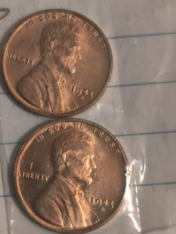 2--+1943 wheat penny for Sale in Des Moines,  IA