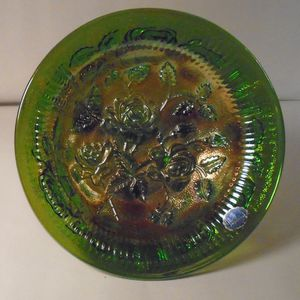 Vintage Carnival Glass Plate for Sale in Villa Park, IL