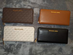 Brand New Authentic Michael Kors Wallets for Sale in Lakeland, FL
