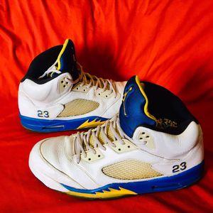 Mens Air Jordan 5 Retro Laney (13) for Sale in Casa Grande, AZ