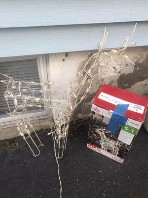 Reindeer lights up for Sale in Kearny, NJ