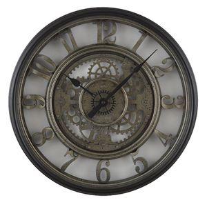 NEW Skeleton antique black sliver clock dial style for office bedroom living dining room Christmas for Sale in Henderson, NV