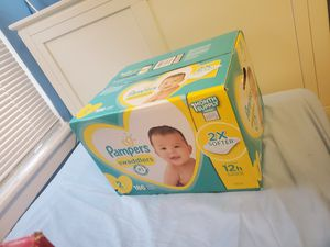Pampers size 2 for Sale in Bridgeport, CT