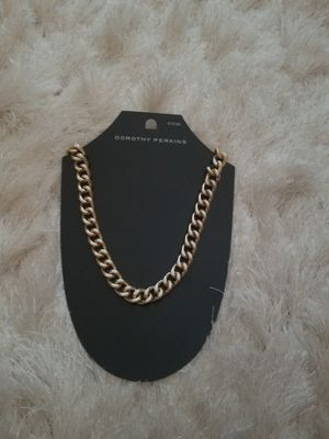 Gold chain necklace for Sale in Bethesda, MD