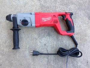 Milwaukee sds plus rotory hammer for Sale in Los Angeles, CA