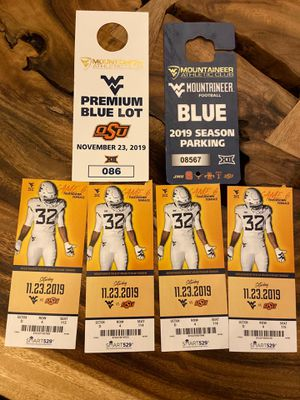WVU football tickets for Sale in White Hall, WV