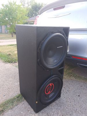 12s subwoofers in probox $120 for Sale in Dallas, TX