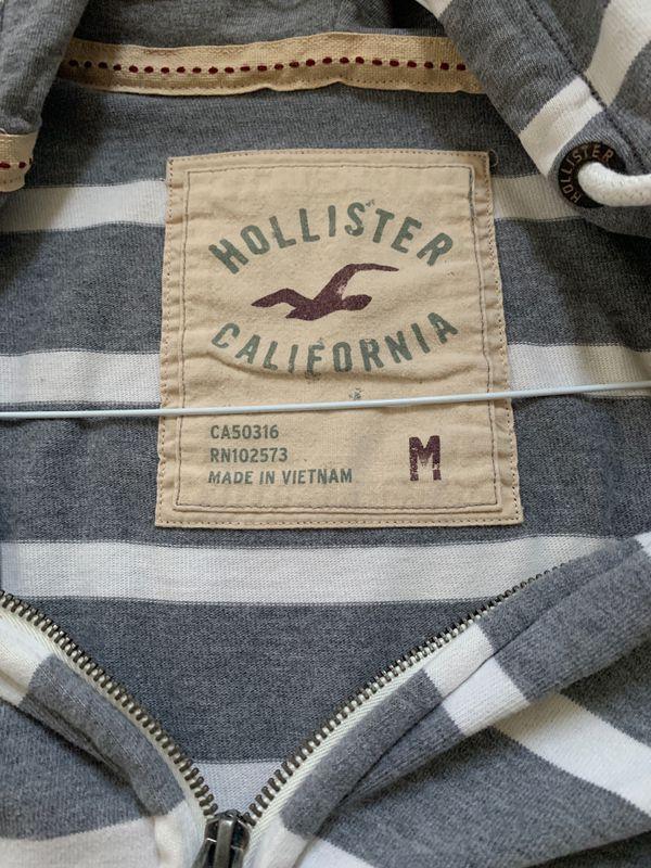 Hollister jacket hoodie medium
