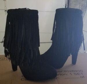Breckelle's fringe bootie for Sale in Philadelphia, PA