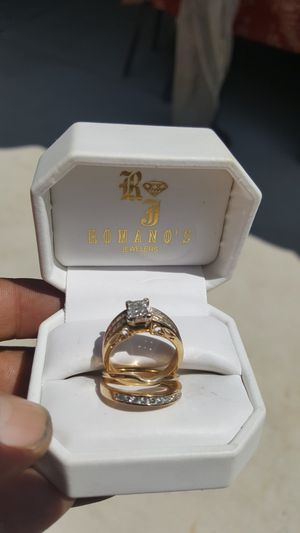 $0.03 piece wedding ring size 8 I think for Sale in Colton, CA