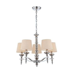 Jana Collection 5-light Polished Nickel Chandelier for Sale in Largo, FL