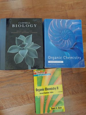 College University Science textbooks - used for Sale in Rockville, MD