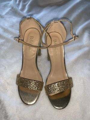 Bella Marie Heels (gold) size 8 for Sale in North Las Vegas, NV