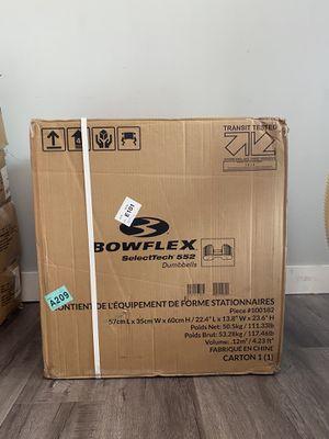 Bowflex 552 adjustable dumbbells for Sale in Redondo Beach, CA