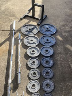 Complete Olympic Weight Set for Sale in Linthicum Heights,  MD