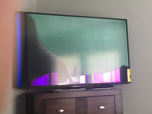 Cracked 55in smart tv ( need GONE ASAP) for Sale in Capitol Heights, MD