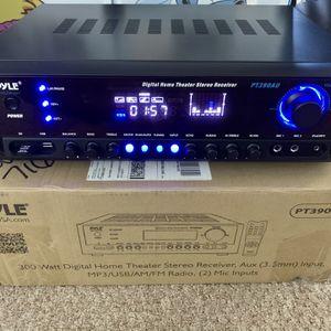 Pyle Receiver Karaoke Amplifier PT390AU for Sale in West Palm Beach, FL