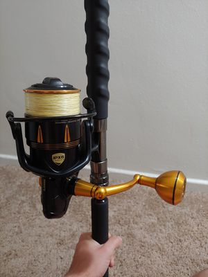 Penn Slammer III 6500 and Carnage 2 boat rod for Sale in Downey, CA