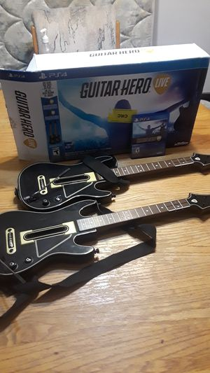 Guitar Hero live playstation 4 for Sale in East Wenatchee, WA