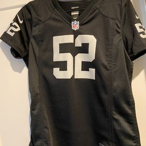 Size Large Khalil Mack 52 Raiders Jersey for Sale in Sacramento, CA