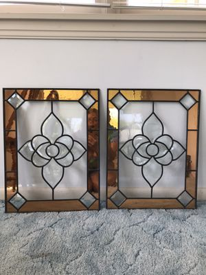 Stained and beveled glass windows for Sale in West Mifflin, PA