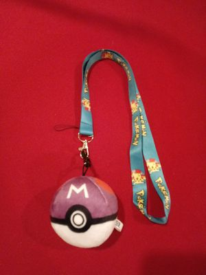 Pokemon Lynyrd with keychain plush ball. for Sale in Pico Rivera, CA