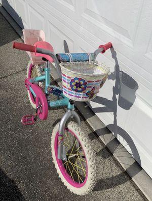 "16"" Magna Girls Bike with basket for Sale in Mountlake Terrace, WA"
