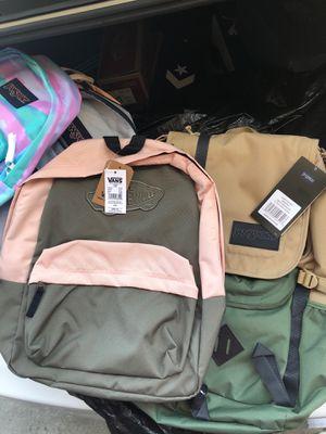 Jansport and vans backpacks for Sale in Los Angeles, CA