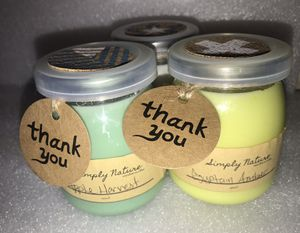 7oz glass scented candles for Sale in Houston, TX
