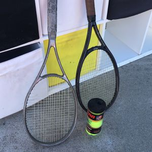 INSTANT TENNIS 2 Racket Can Balls for Sale in Los Angeles, CA
