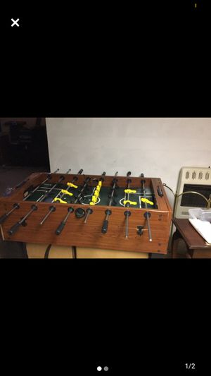 Foosball table with air hockey on the bottom for Sale in Hickory, NC