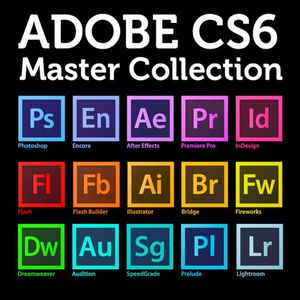 Adobe creative suite cs6 / Adobe creative cloud 2019 includes photoshop illustrator premiere after effects Lightroom dreamweaver etc for Sale in Queens, NY