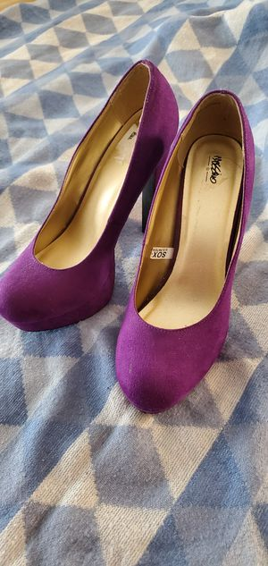 Purple high heel pumps for Sale in Cleveland, OH