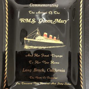 RMS Queen Mary Commemorative Plate for Sale in Riverside, CA