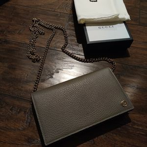Authentic Gucci Wallet On Chain for Sale in San Diego, CA