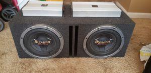 Pioneer Premier championship series pro and diamond audio amps for Sale in Shreveport, LA
