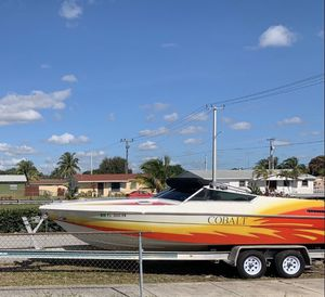 Boat Cobalt 23 feet with cabin (con cabina) y trailer. for Sale in Miami Gardens, FL