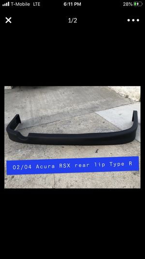 New 02-04 Acura RSX rear lip type R for Sale in San Diego, CA