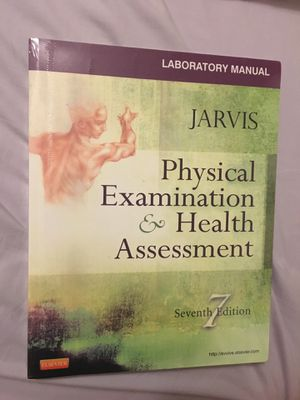Physical Examination and Health Assessment textbook and workbook for Sale in Houston, TX